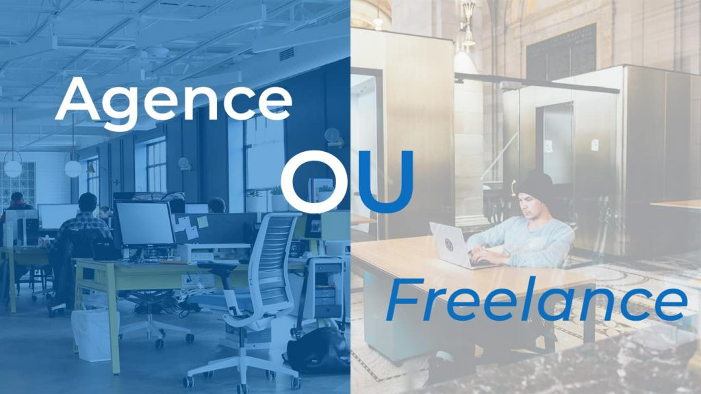 agence de communication ou freelance coût site internet site web