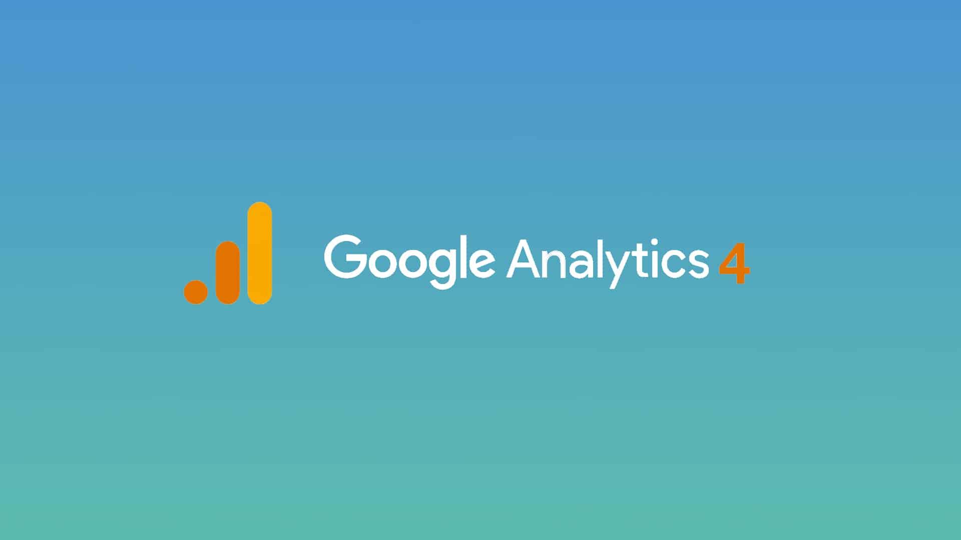 Google Analytics 4 bannière
